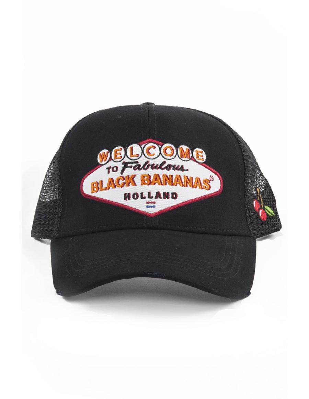 Black Bananas Vegas Trucker cap Black
