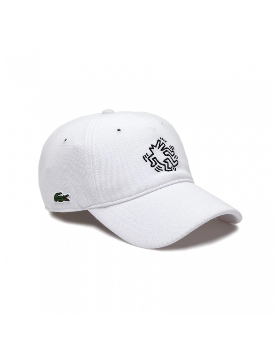 Lacoste cap - x Keith Haring - Blanc