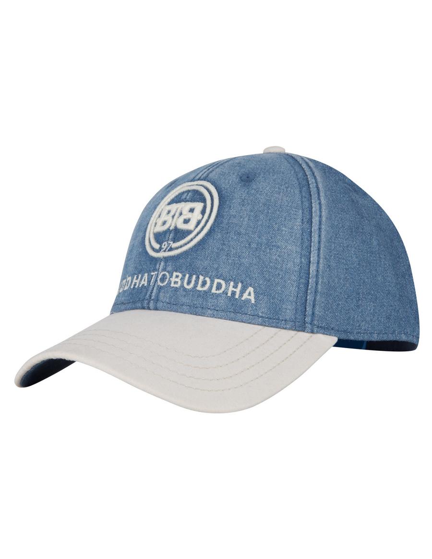 Buddha to Buddha hat Hawk blue