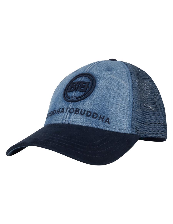 Buddha to Buddha hat Ian blue