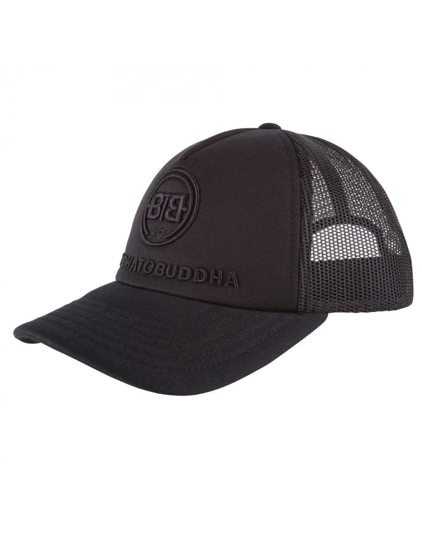 Buddha to Buddha Quote hat black