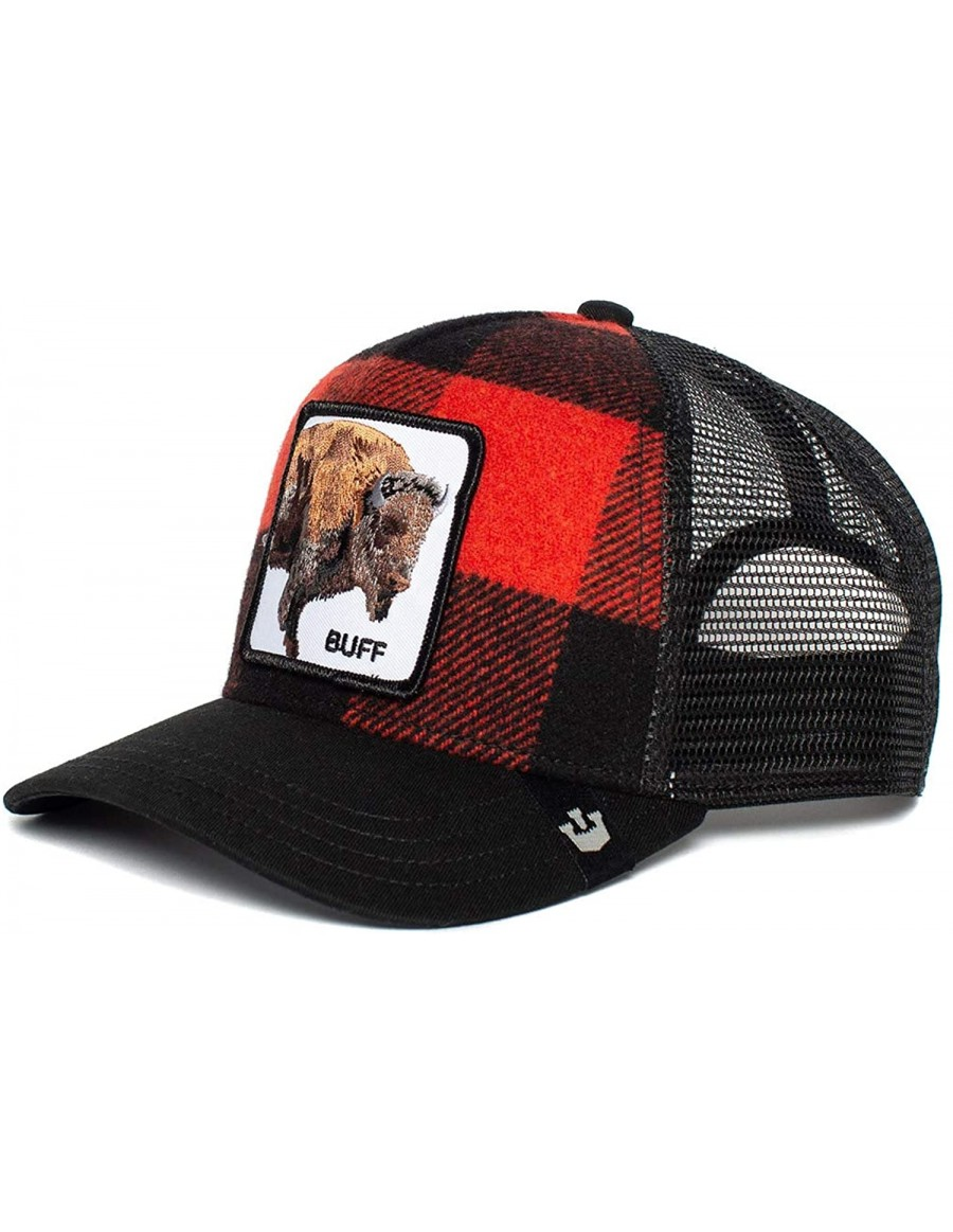 Goorin Bros. Buffalo Trucker cap - Red