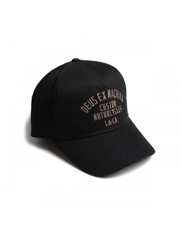 DEUS Buffalo Trucker cap - Black