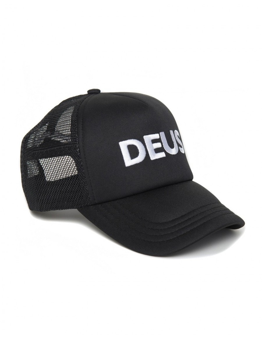 DEUS Caps Trucker cap - Black