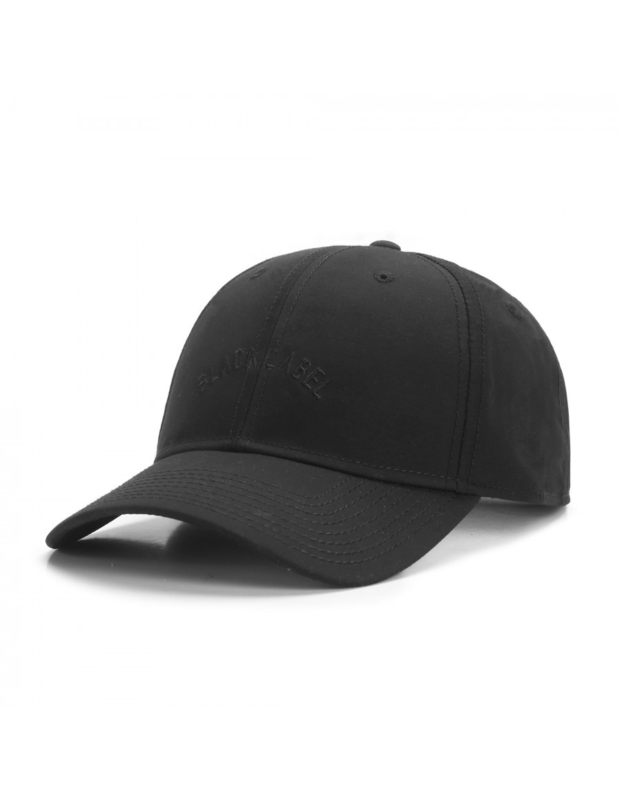 Cayler & Sons Black Arch - Curved dad cap - black