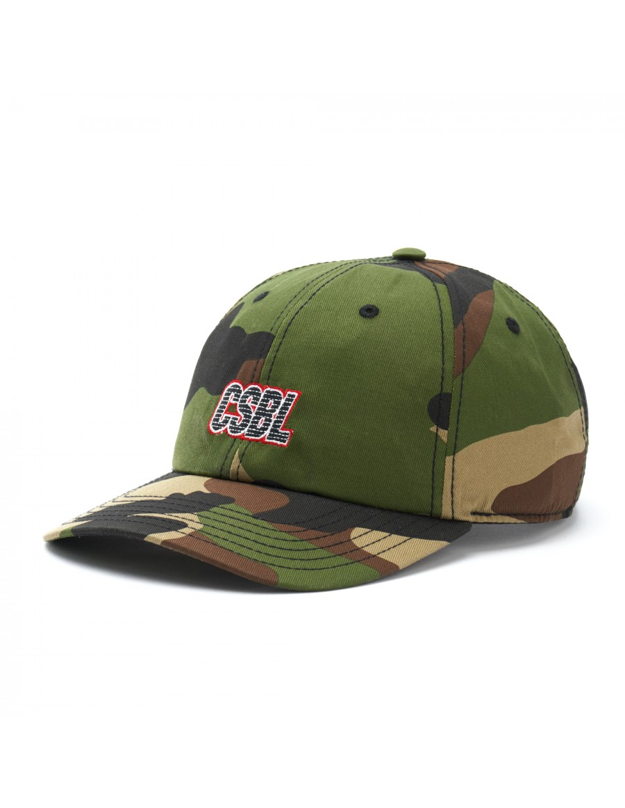 Cayler & Sons Bucktown - Curved dad cap - camo