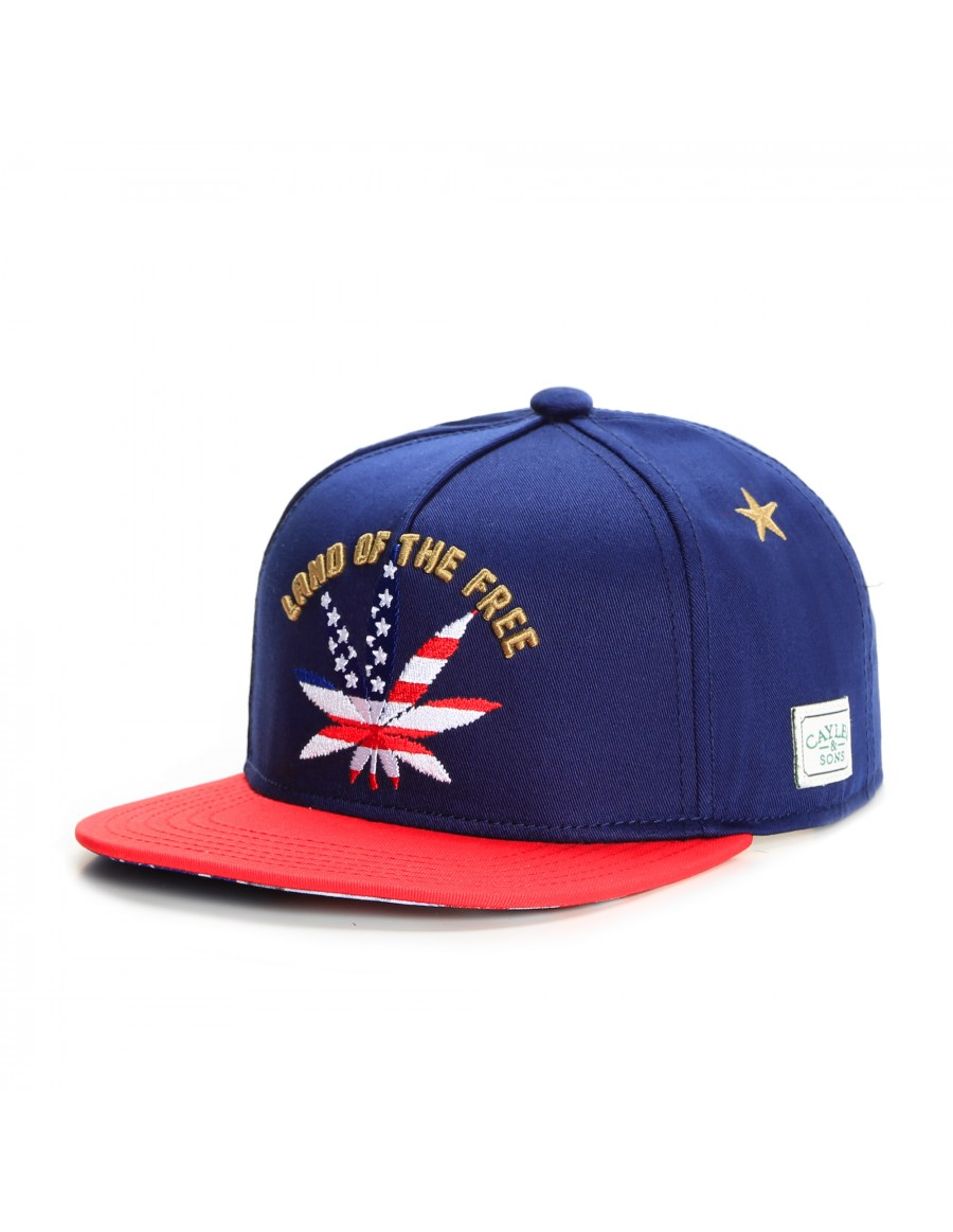 Cayler & Sons Land of the Free snapback cap