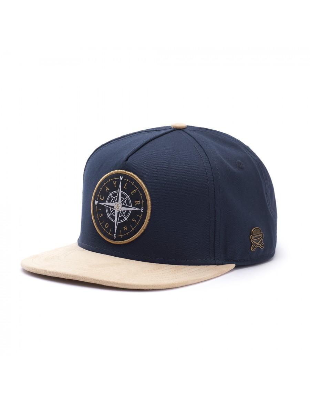 kod promocyjny dobra obsługa sklep internetowy Cayler & Sons Navigating - Snapback cap - navy