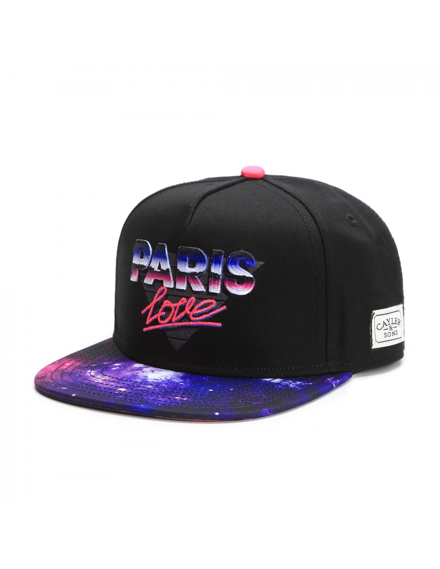 Cayler & Sons Paris Love snapback cap
