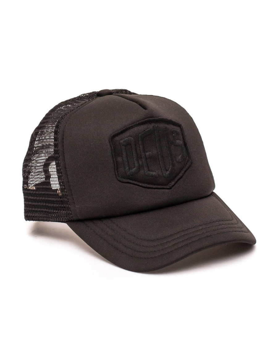 DEUS Baylands Trucker cap - Black