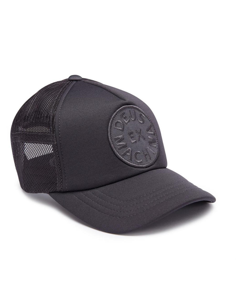 DEUS Circle Trucker cap - Gray
