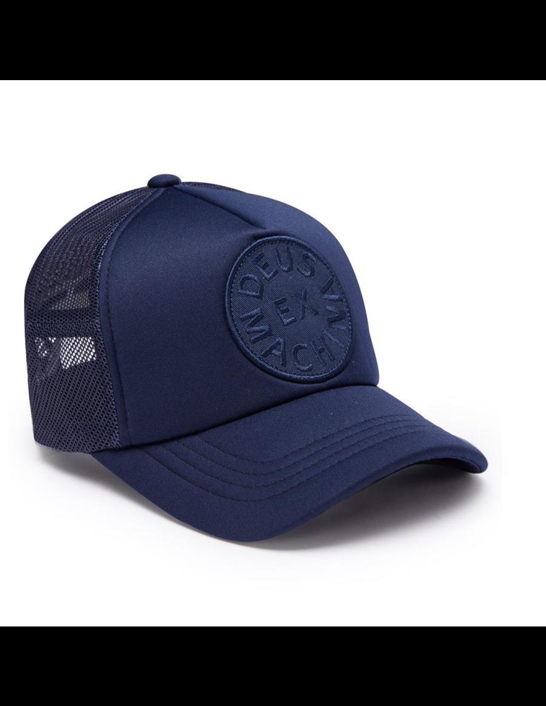 DEUS Circle Trucker cap - Navy