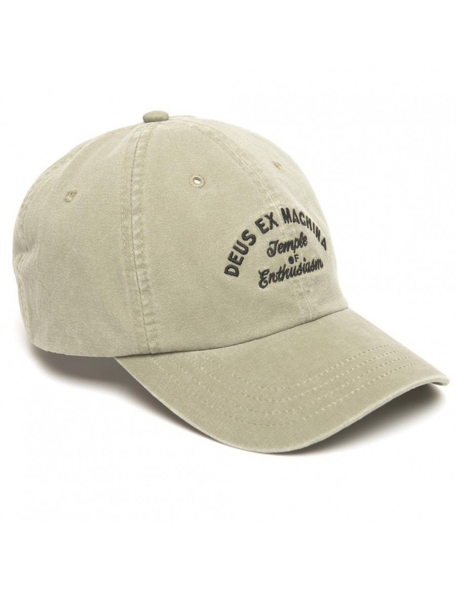 DEUS Curved Cap Locations - olive
