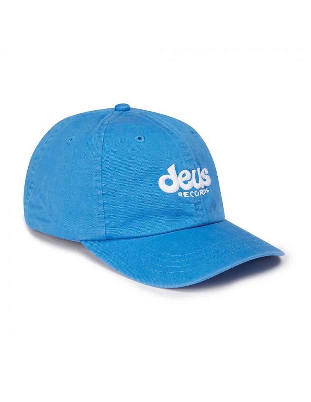 DEUS Curved Cap Records - blue - SALE