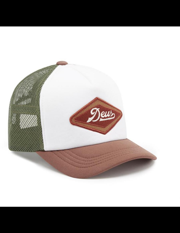 DEUS Diamond 2 Trucker cap - Brown