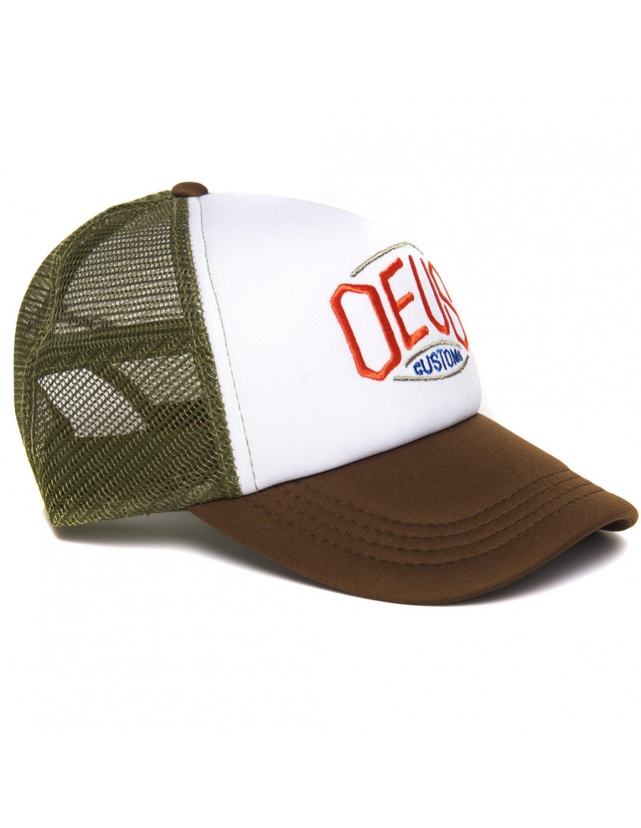 DEUS Trucker cap Hexagonal - brown