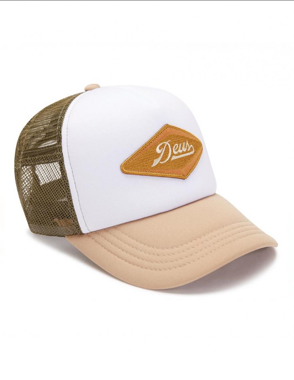 DEUS Hat Diamond Trucker - tan