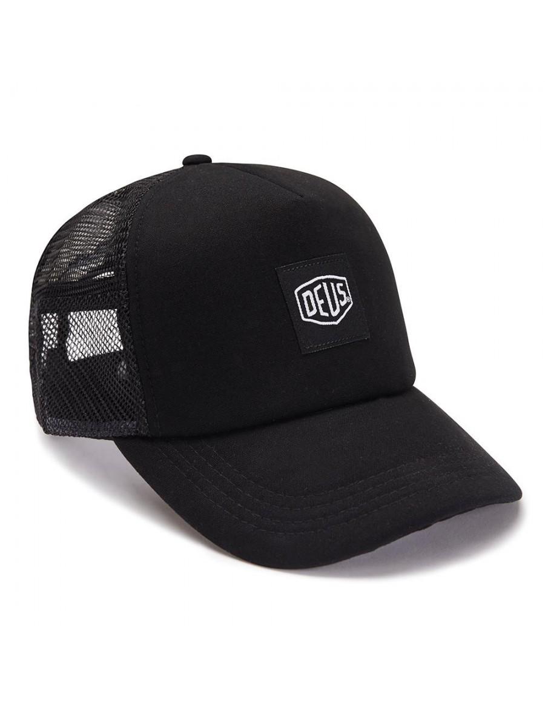 DEUS Hat Glover Trucker - black