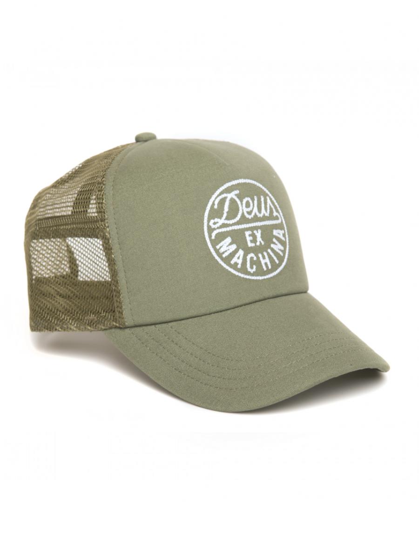DEUS Hat Hackman 2 Trucker - olive