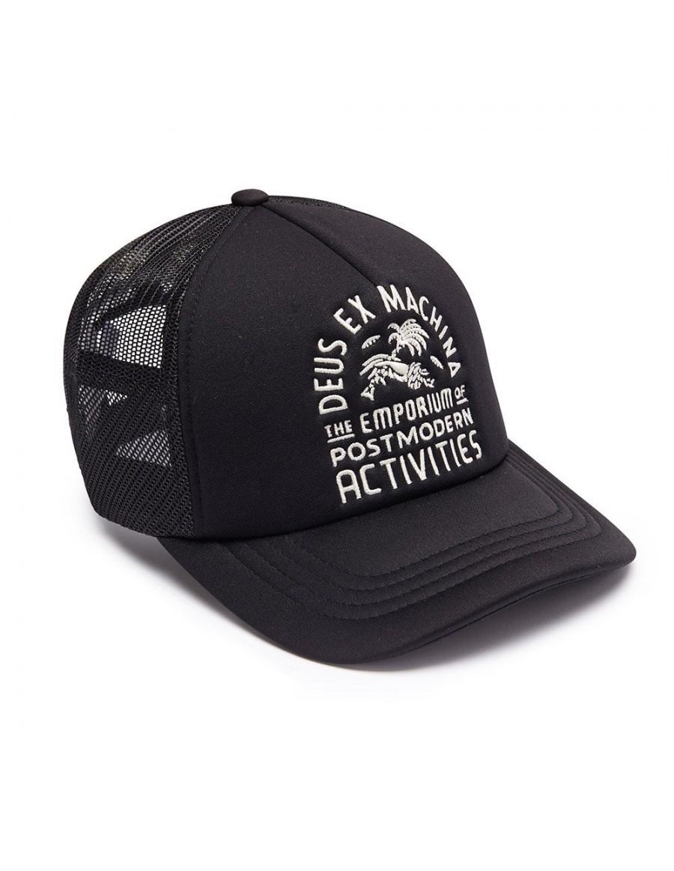 DEUS Hat Trucker EMPORIUM - black