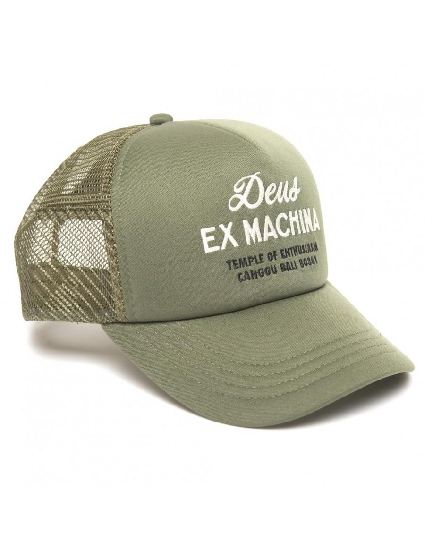 DEUS Hat Trucker House - olive