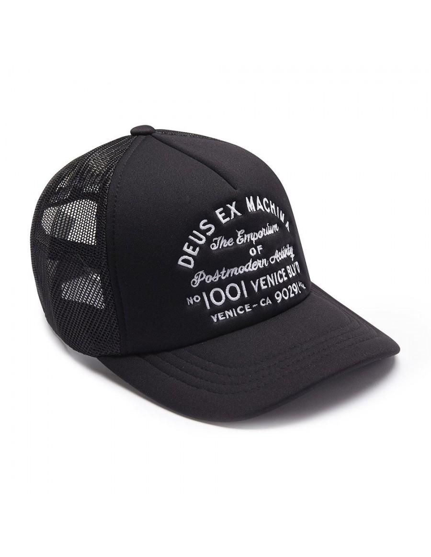 DEUS Hat Trucker LA Address - black