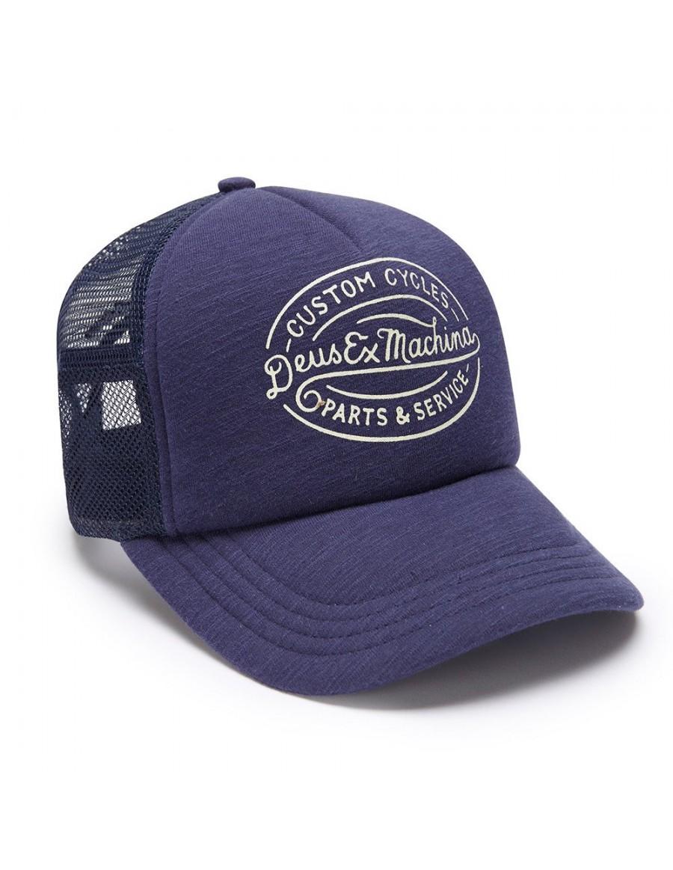 DEUS Hat Trucker Mike - navy