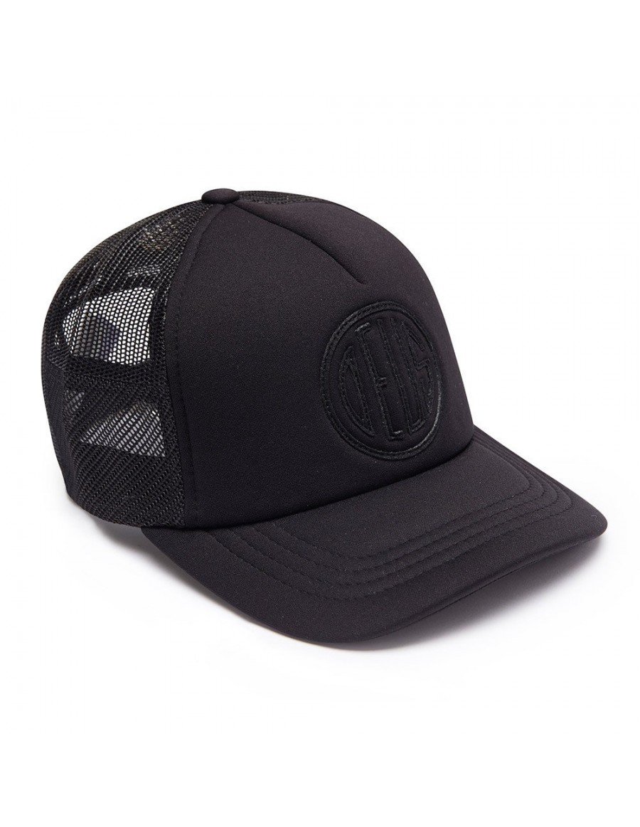 DEUS Hat Trucker Pill - black on black