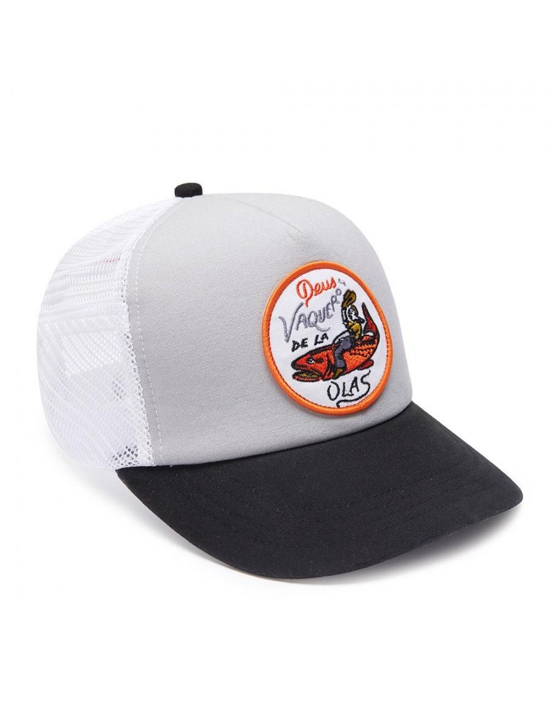 DEUS Hat Trucker Vaqueros - grey