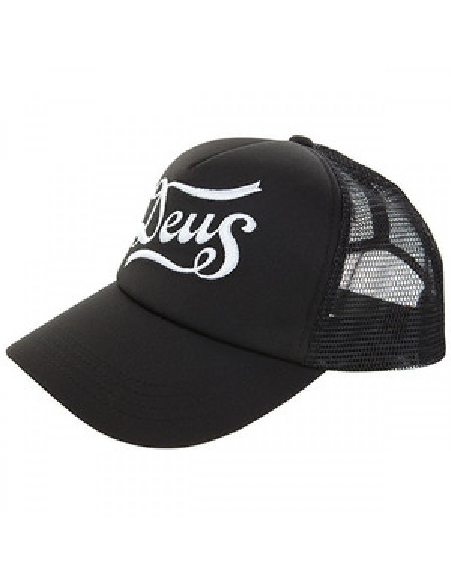 DEUS Trucker pet Skeers - black white