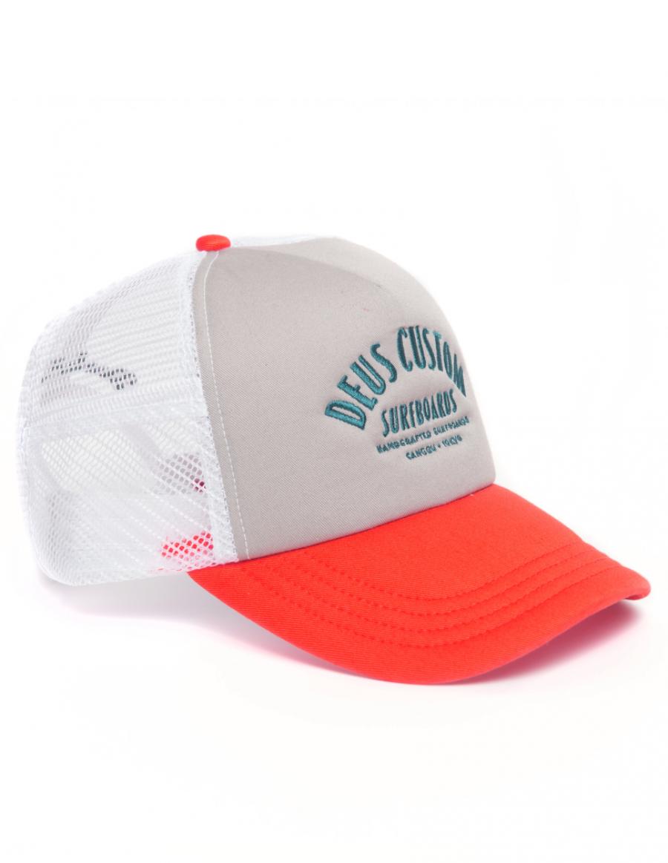 DEUS Trucker cap Pumice - grey