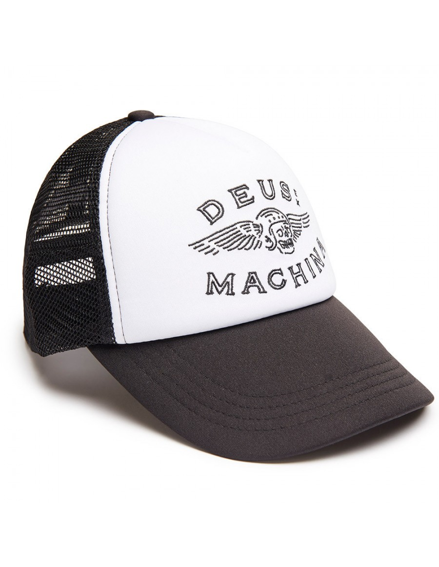 DEUS Trucker hat Curtis - black