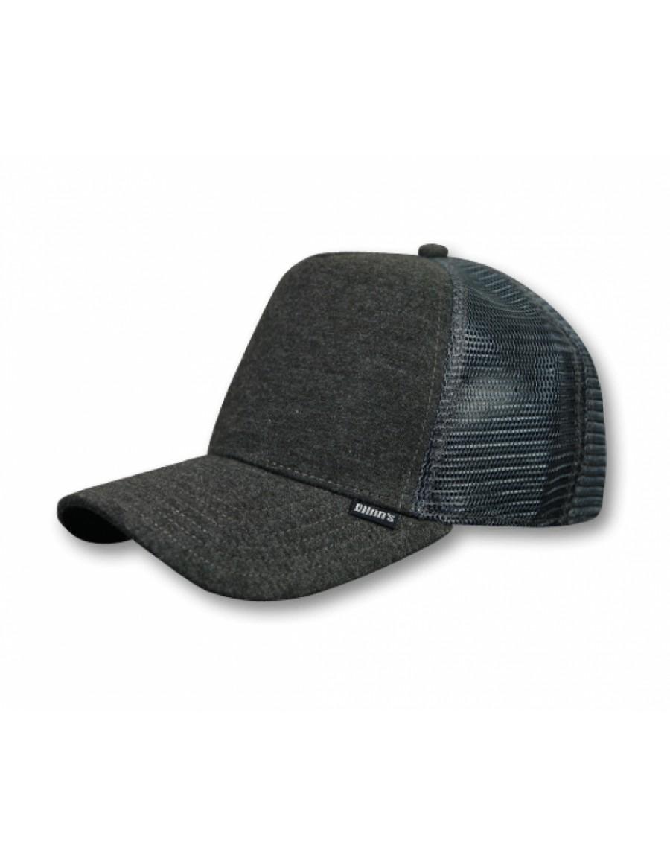Djinn's Cut & Sew Trucker Cap charcoal