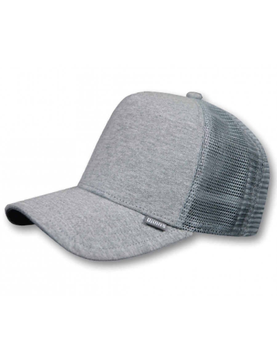 Djinn's Cut & Sew Trucker Cap grey