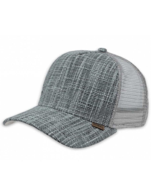 Djinn's HFT Jute Trucker Cap grey