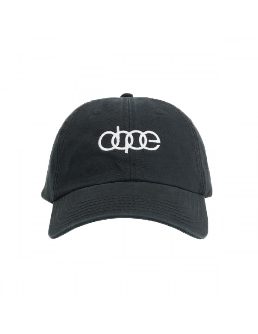 DOPE Quattro Dad hat - black