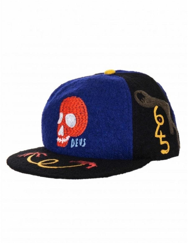DEUS Goofy Smile cap - Navy