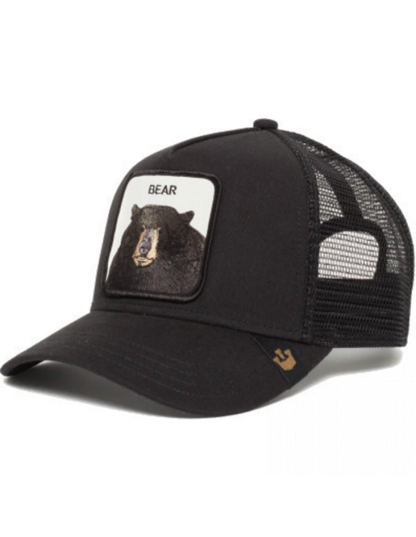 Goorin Bros. Black Bear Trucker cap - Black