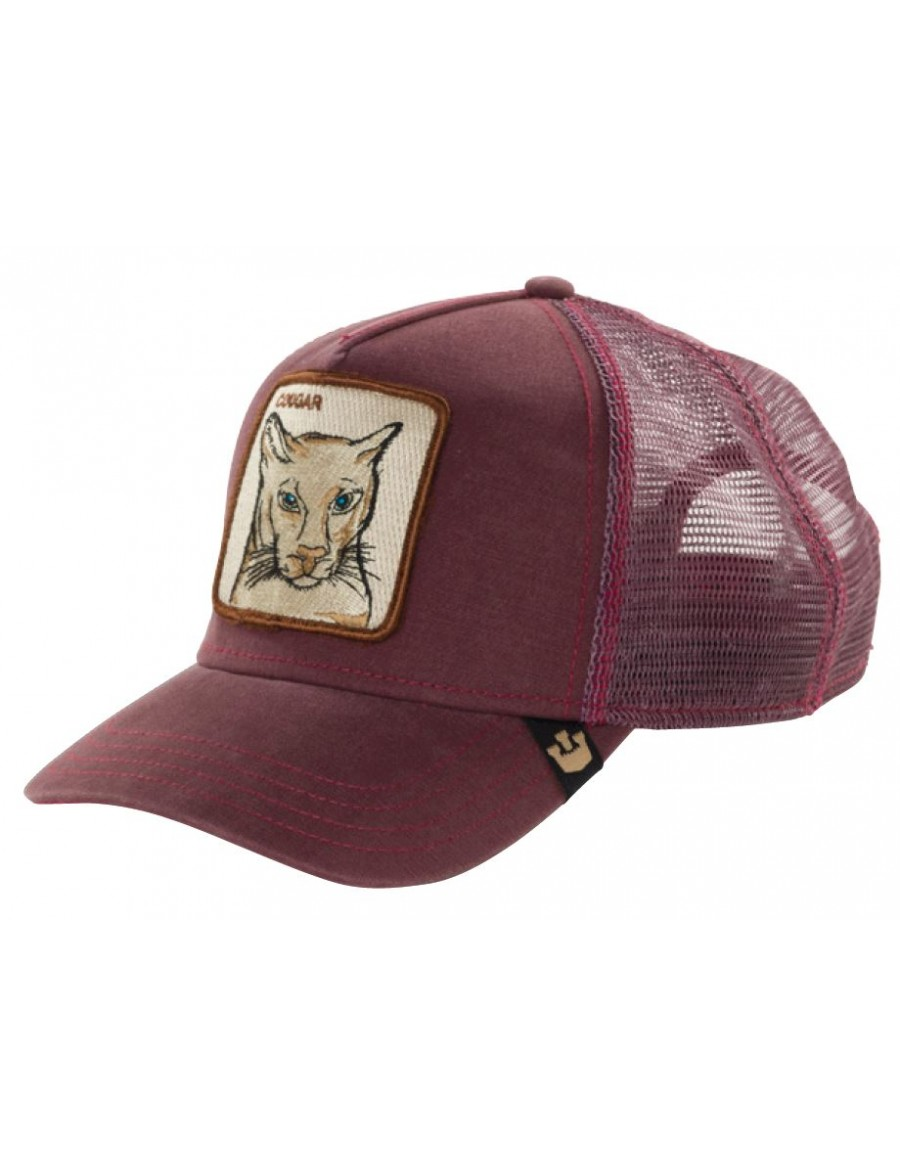 1012612f Goorin Bros. Cougar Trucker cap maroon - €34,95 + LOW shippingcosts