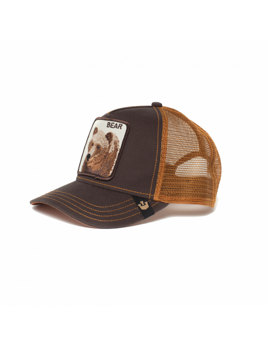 Goorin Bros. Grizz Trucker cap brown