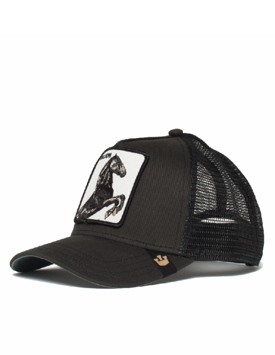 Goorin Bros. Stallion Trucker cap -  Black