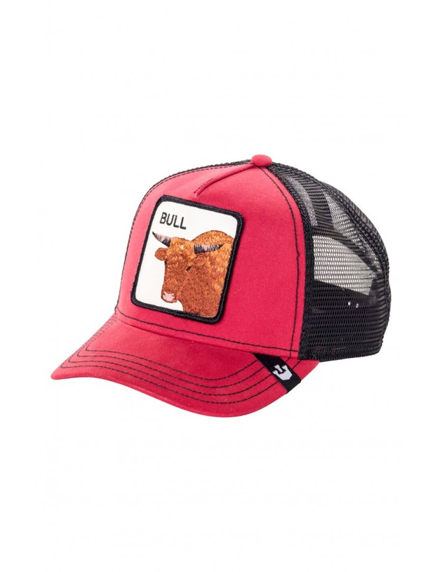 Goorin Bros. Bull Trucker cap - red
