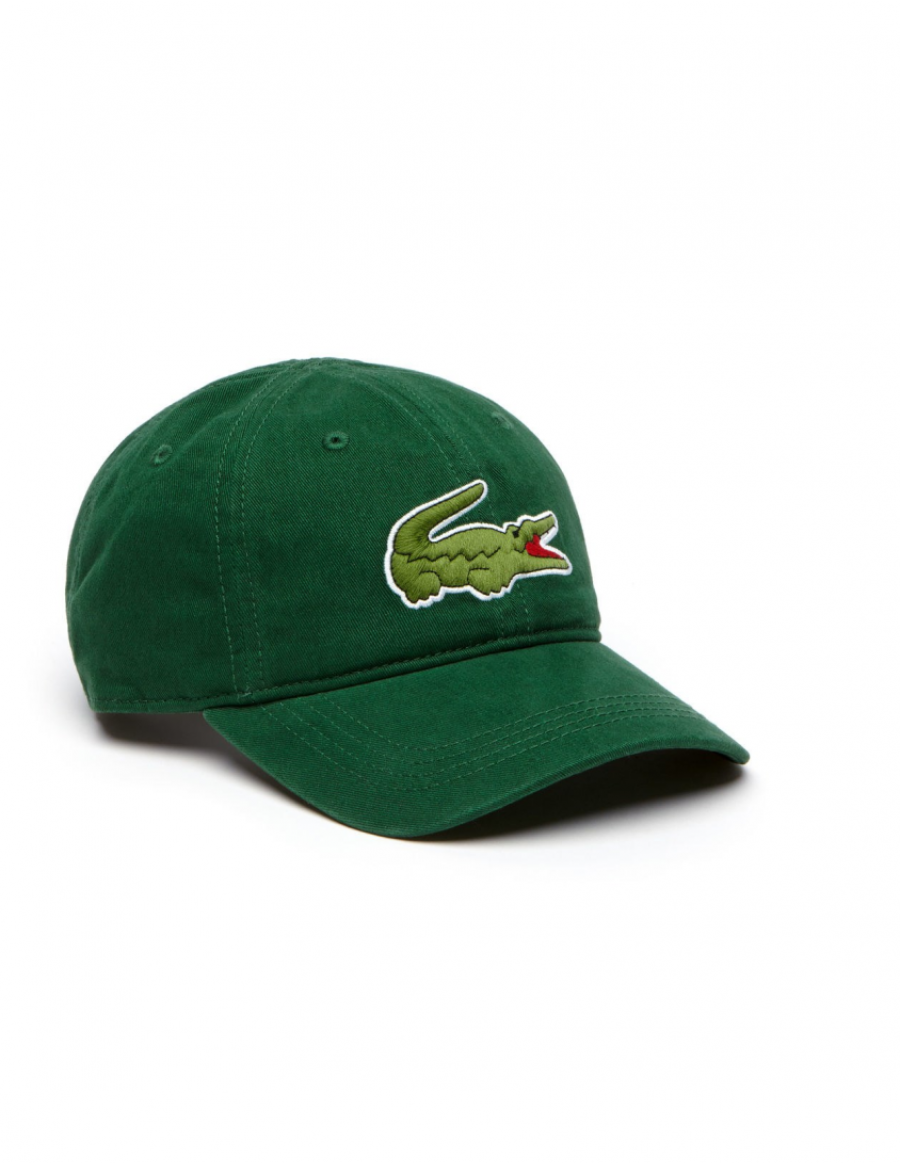 3262a5cca Lacoste cap - Big Croc Gabardine - Green - €39.95 + LOW shippingcosts