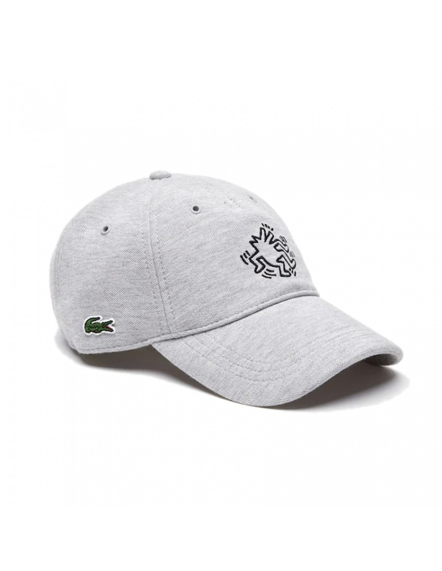 Lacoste cap - x Keith Haring - Gris Chiné
