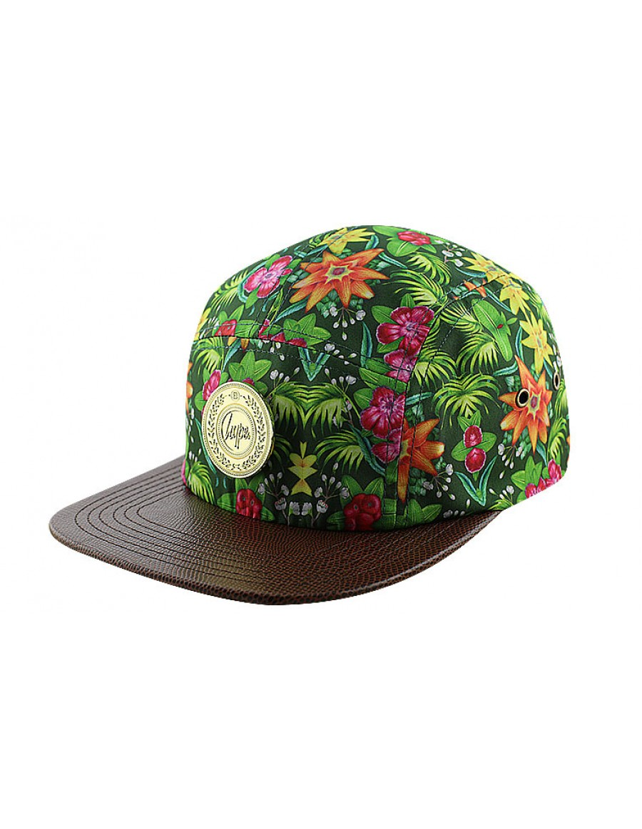 HYPE 5 panel Flourishing garden Strapback - Sale