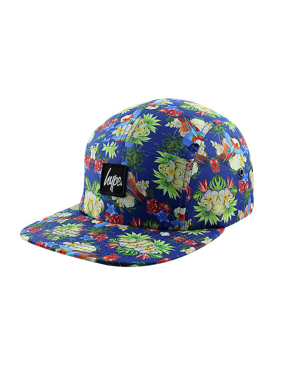 HYPE 5 panel Parrot coconut Strapback - Sale
