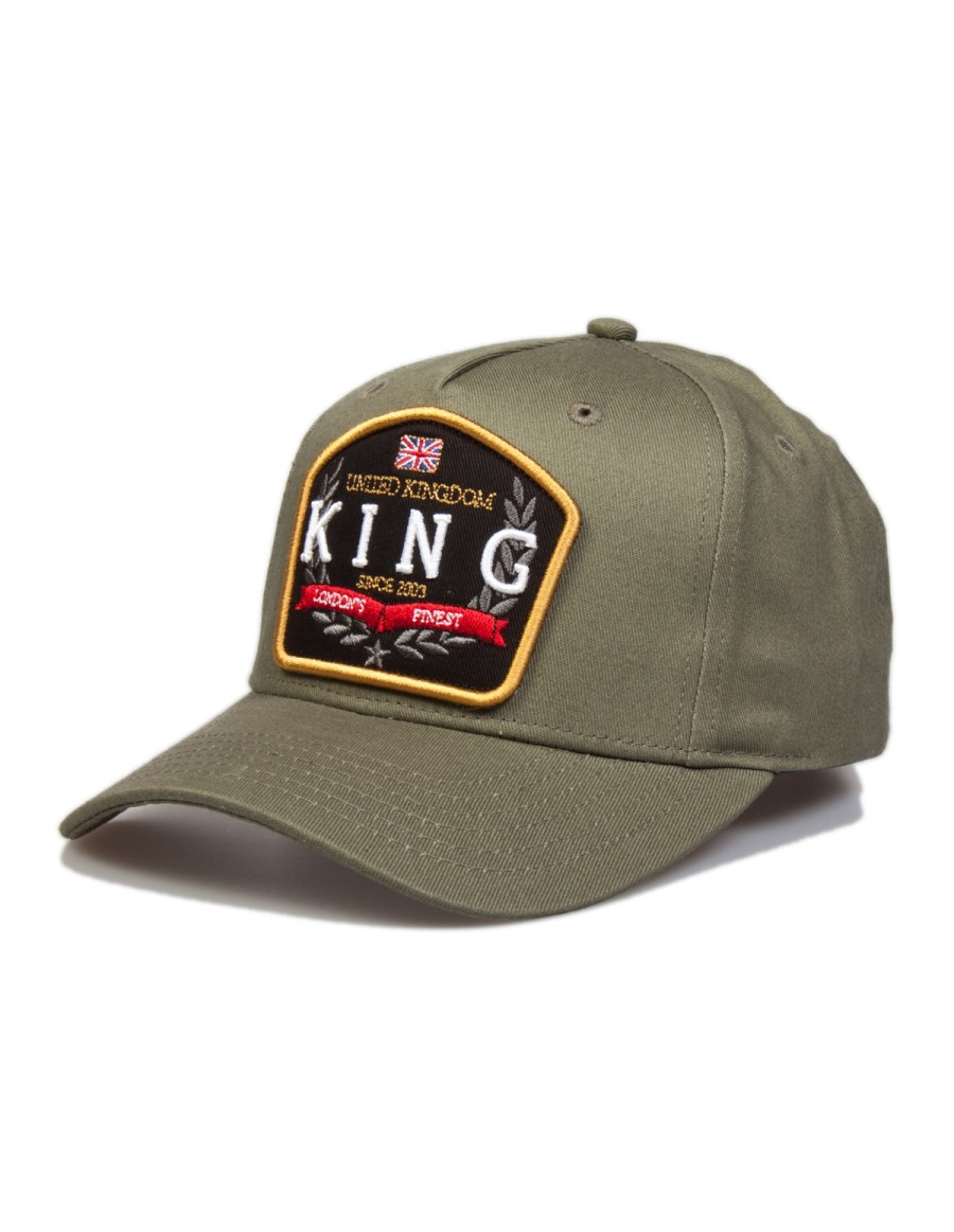 KING Apparel The Imperial cap - Fern