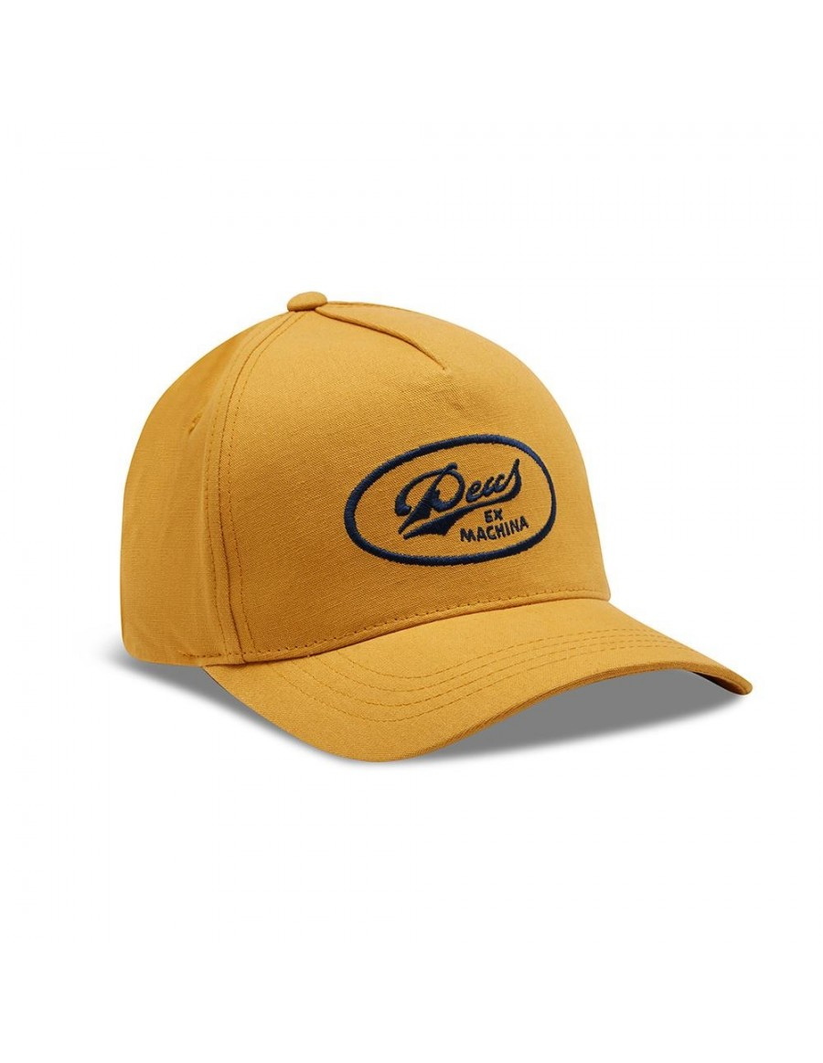 DEUS John Lee Trucker cap - Gold