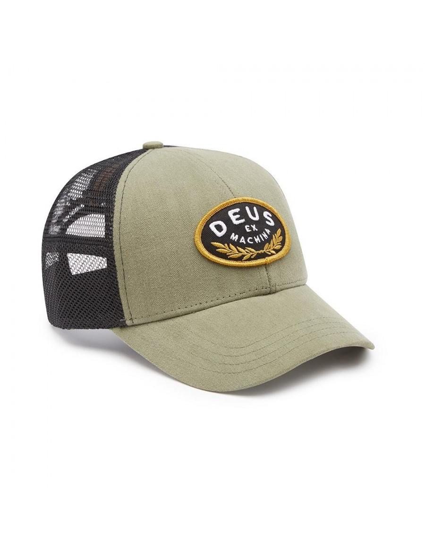 DEUS Julio Trucker cap - Olive