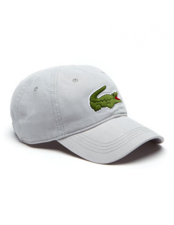 Lacoste hat - Big Croc Gabardine - Nimbus